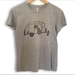 American Apparel trailer dog tee